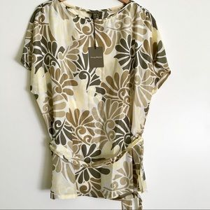 NWT Tommy Bahama 100% silk top